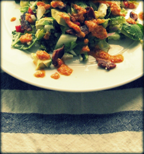 This salad is very traditional, but for some reason, people seem to ...