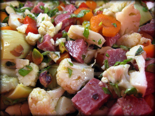 Paleo Antipasto Salad