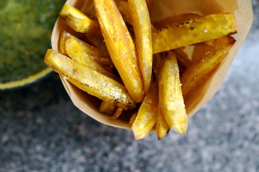 Latin Fries with Chimichurri