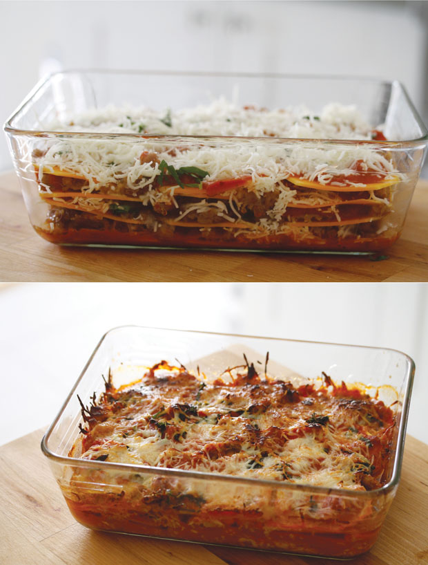 Hem and Her: Butternut Squash Lasagna