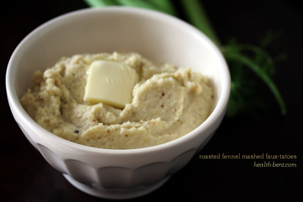 Roasted Fennel Mashed Faux-tatoes