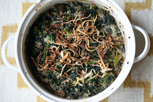 Green (Not Bean) Casserole