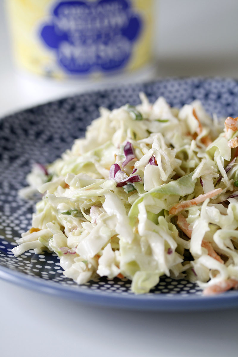 Health-Bent | Food Worth Eating | Crunchy, Creamy Miso Slaw
