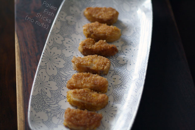Paleo Fish Sticks (No Nuts Involved)