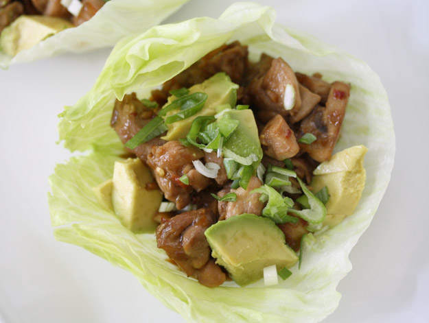 Paleo Lettuce Wraps
