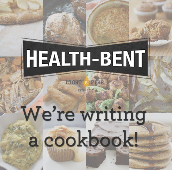 We're writing a cookbook!